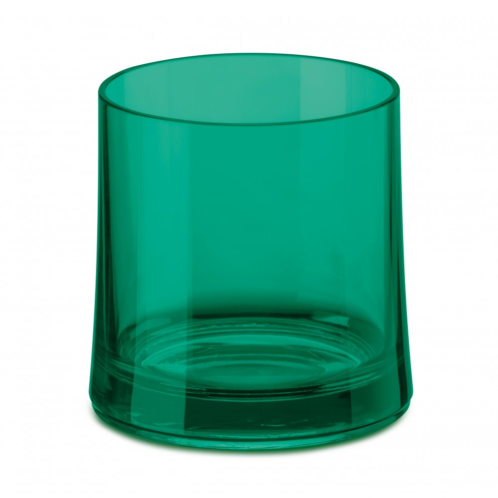 CHEERS NO. 2 Superglas 250ml transparent emerald green