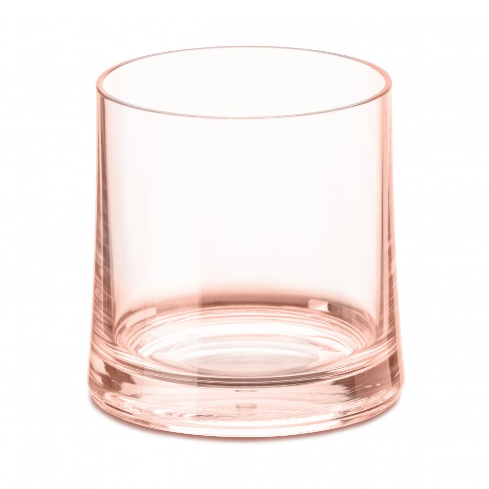 CHEERS NO. 2 Superglas 250ml transparent rose quartz