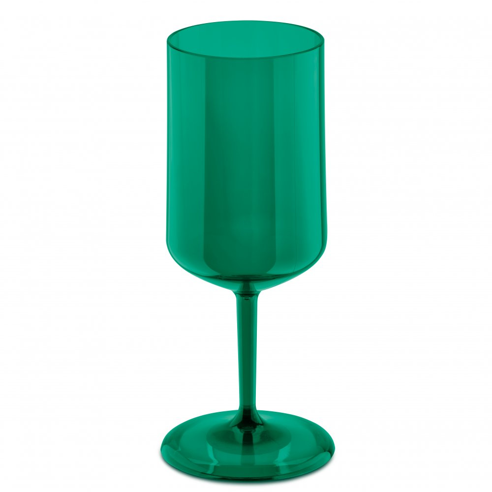 CHEERS NO. 4 Superglas 300ml transparent emerald green