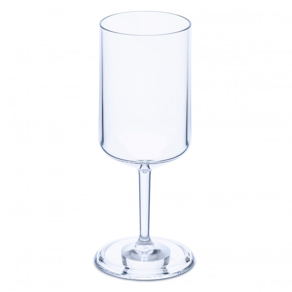 CHEERS NO. 4 Superglas 350ml transparent aquamarine