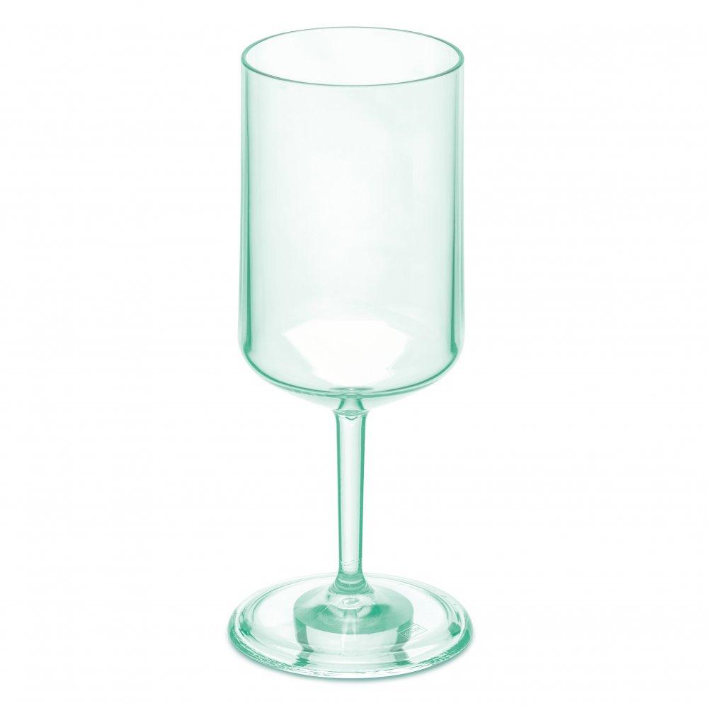 CHEERS NO. 4 Glass 350ml transparent jade