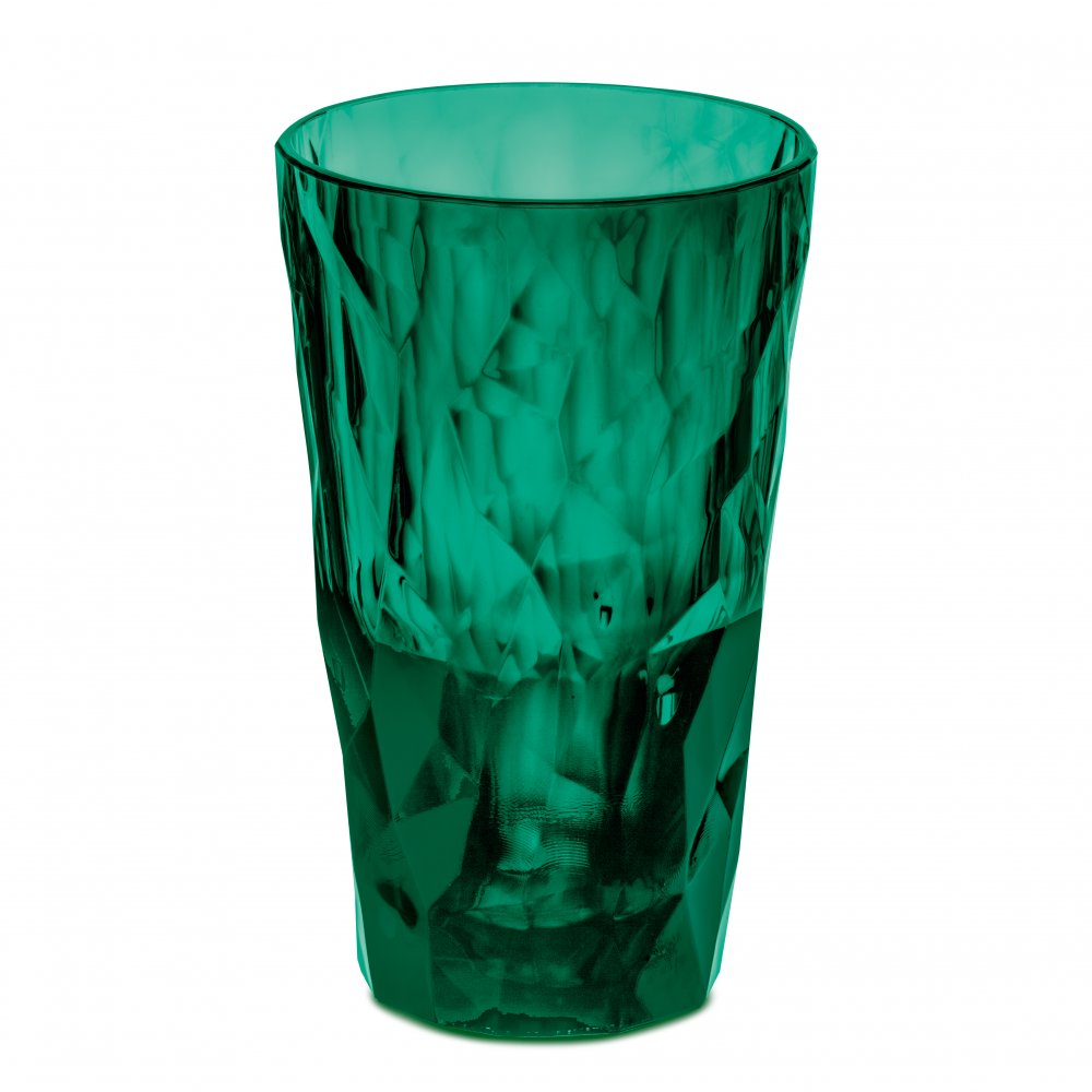 CLUB NO. 6 Superglas 300ml transparent emerald green