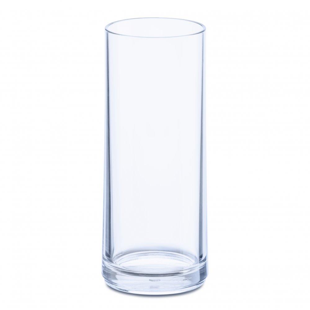 CHEERS NO. 3 Glass 250ml transparent aquamarine