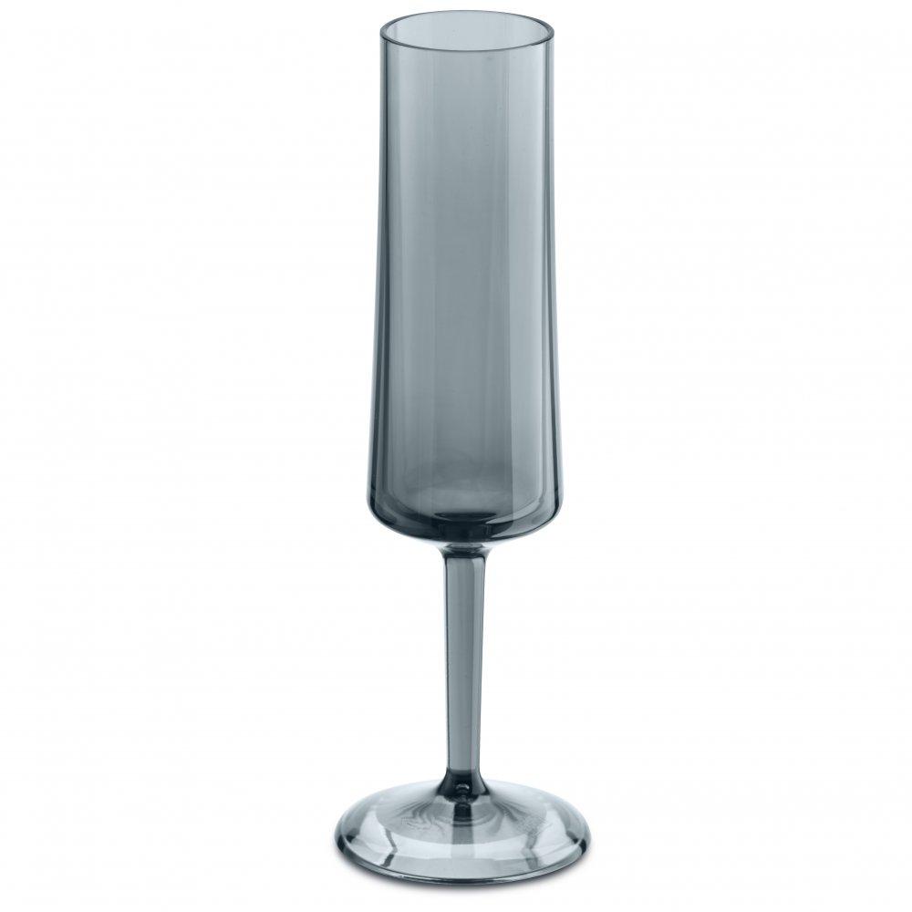 CHEERS NO. 5 Glass 100ml transparent grey