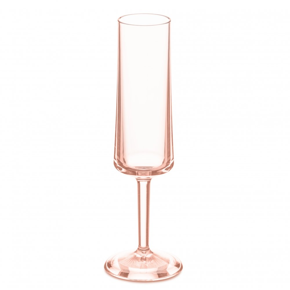 CHEERS NO. 5 Superglas 100ml transparent rose quartz