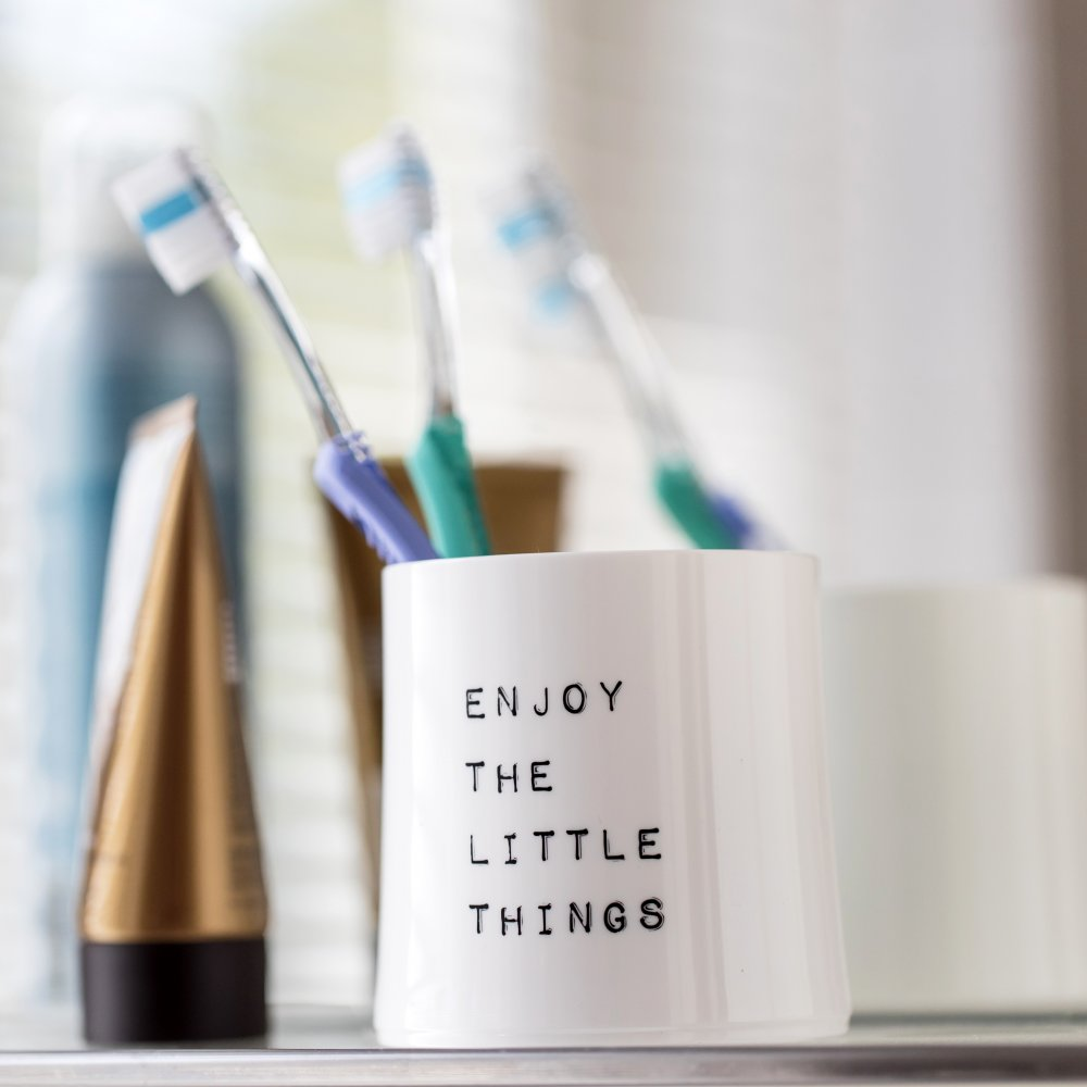 CHEERS NO. 2 ENJOY THE LITTLE THINGS Superglas 250ml with print