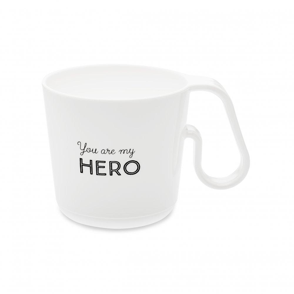 MAXX YOU ARE MY HERO Henkeltasse