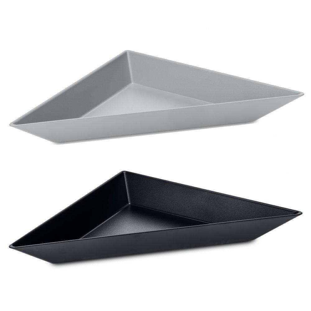 TANGRAM 3 Bowl Set Set of 2 cool grey/cosmos black