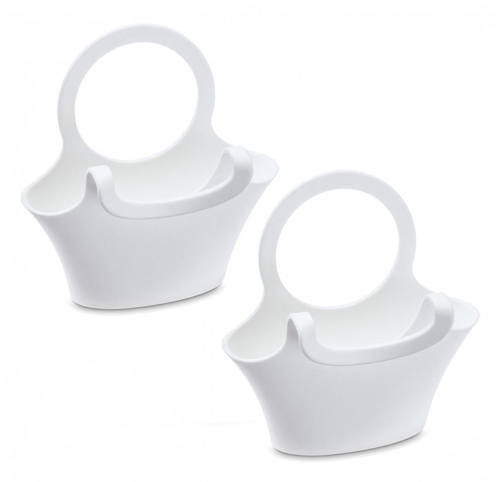 JESSI Tassenutensilo 2er-Set cotton white
