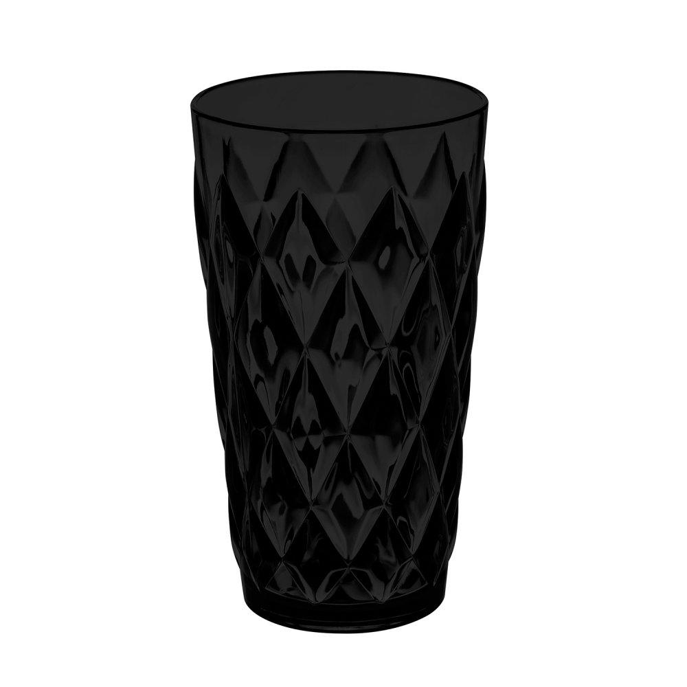 CRYSTAL L Glass 450 solid schwarz