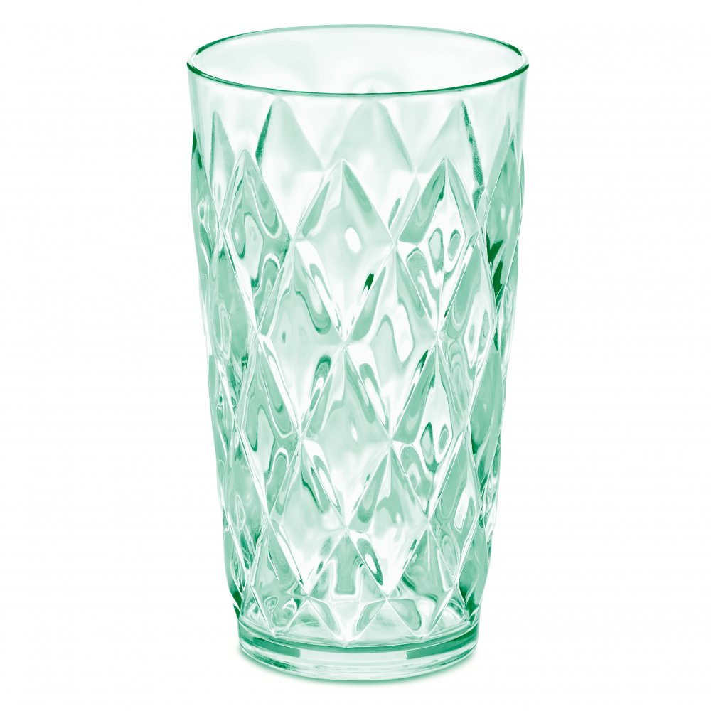 CRYSTAL L Glas 450ml transparent jade