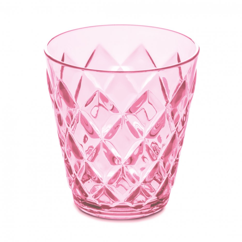CRYSTAL S Becher 200ml transparent pink