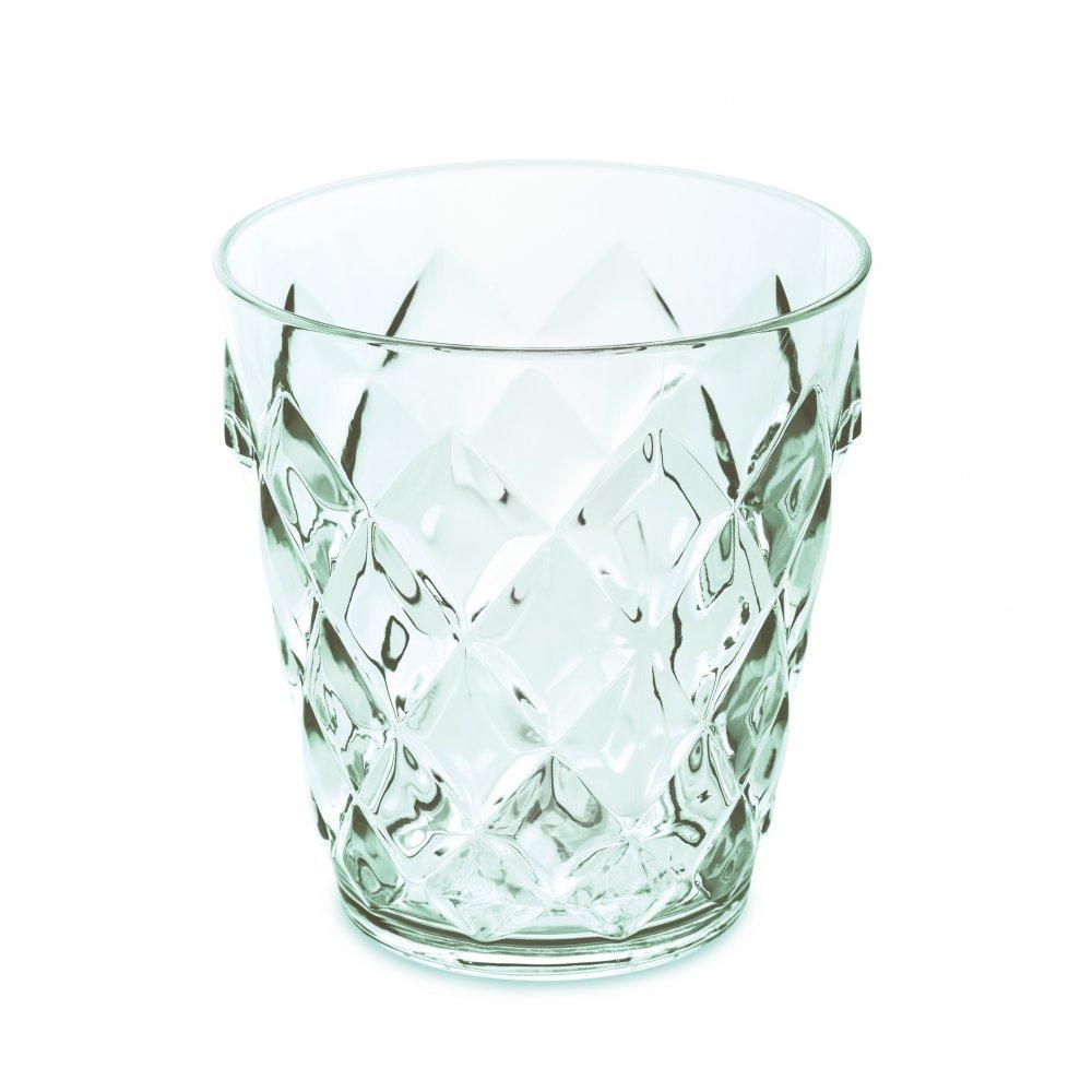 CRYSTAL S Glass 250ml transparent jade