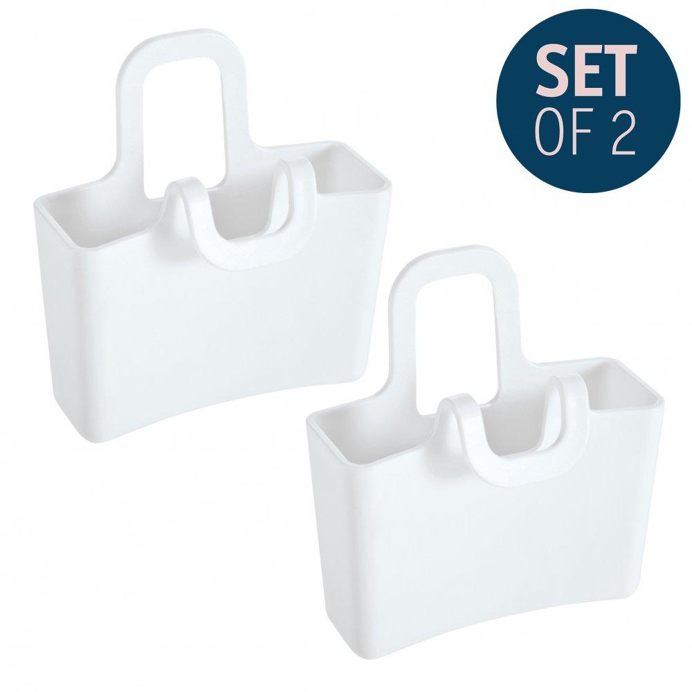 LILLI Mini Cup Carryall Set of 2 cotton white