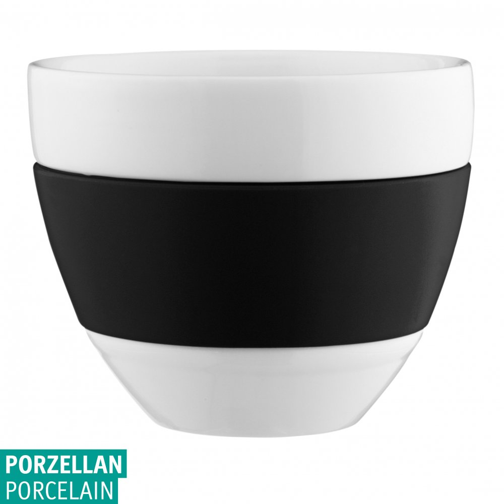 AROMA Milchkaffee-Tasse 300ml cosmos black