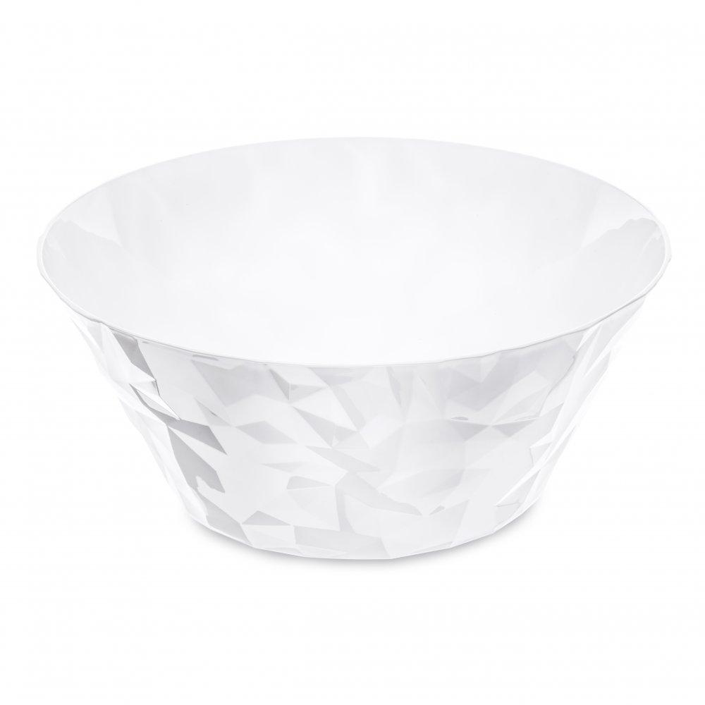 CLUB BOWL L Salad Serving Bowl 3,5l cotton white