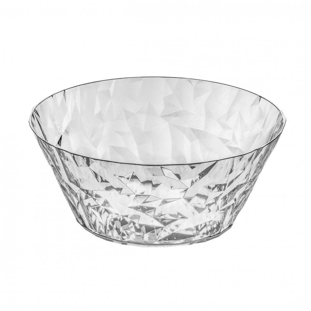 CLUB BOWL L Salad Serving Bowl 3,5l crystal clear