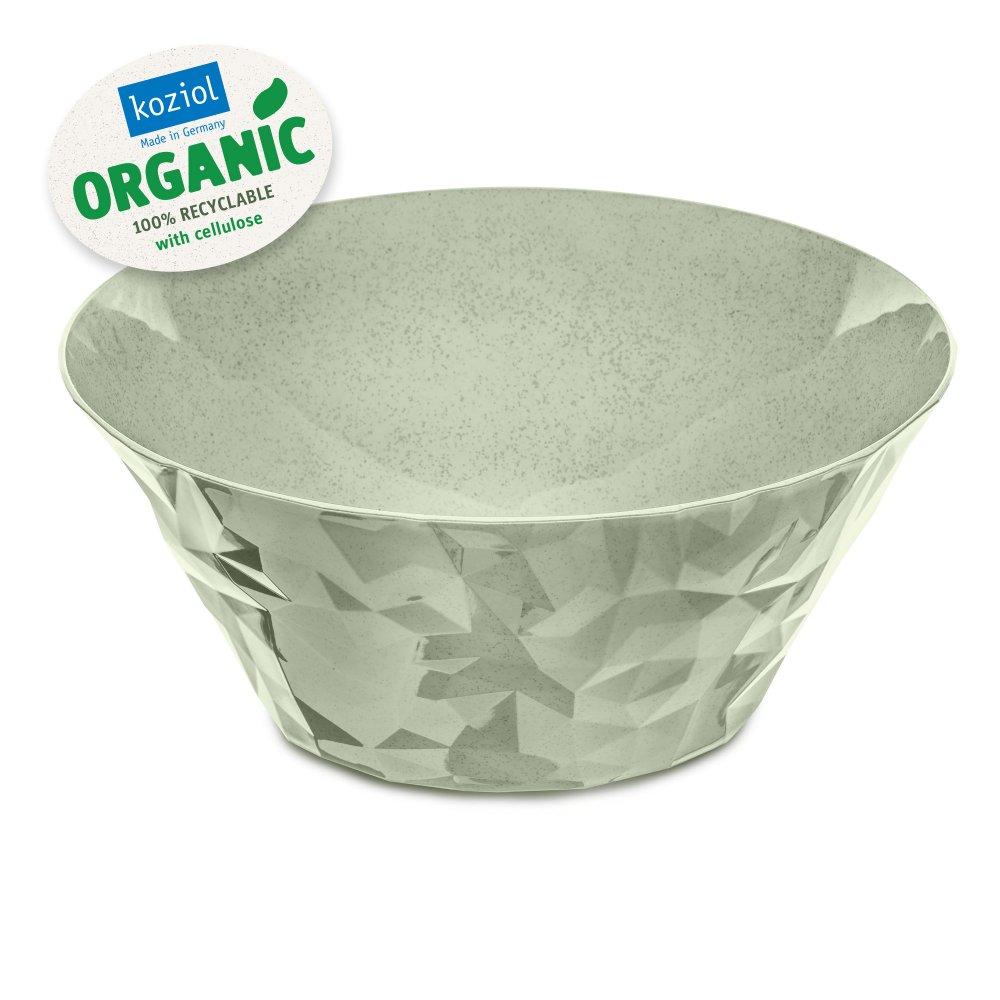 CLUB BOWL L Salad Serving Bowl 3,5l organic green