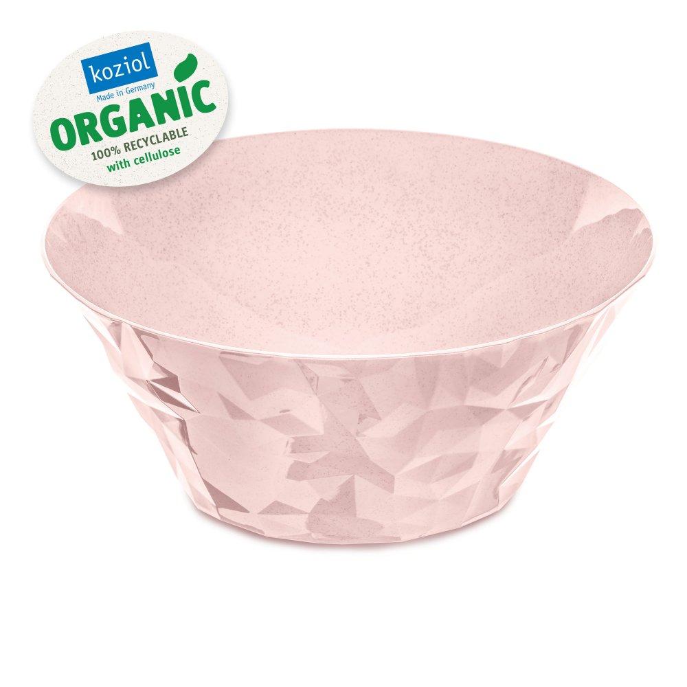 CLUB BOWL L Salad Serving Bowl 3,5l organic pink
