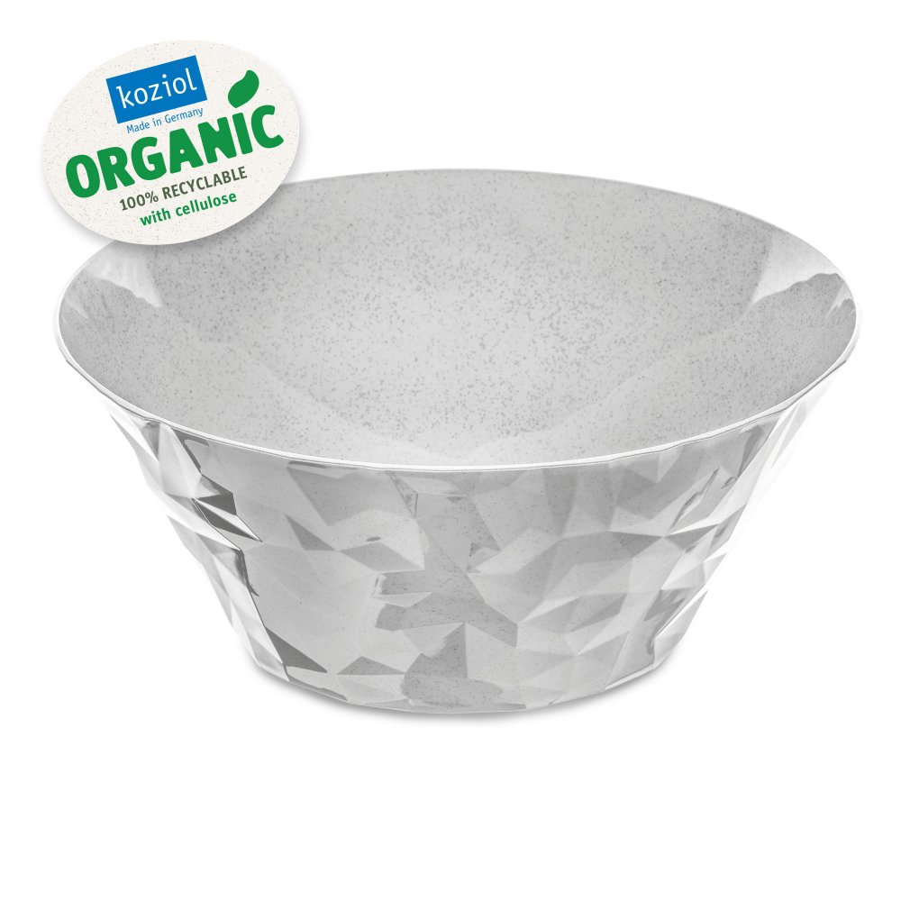 CLUB BOWL L Salad Serving Bowl 3,5l organic grey