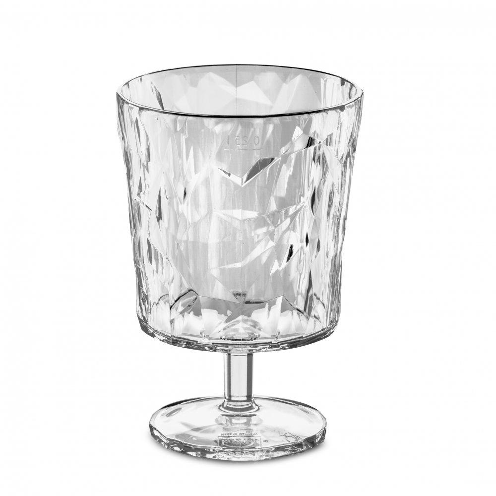 CLUB S Glass 250ml crystal clear