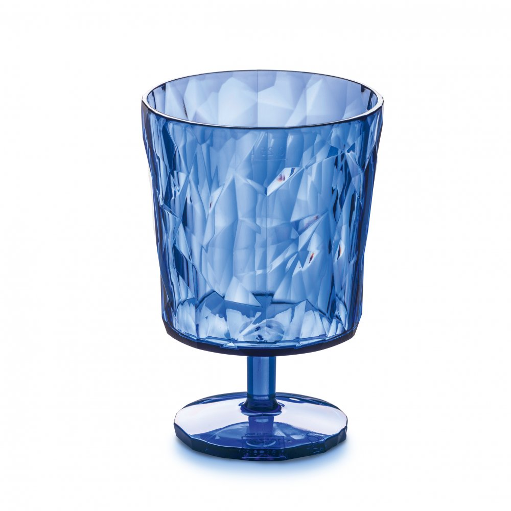 CLUB S Glas 250ml transparent fresh blue
