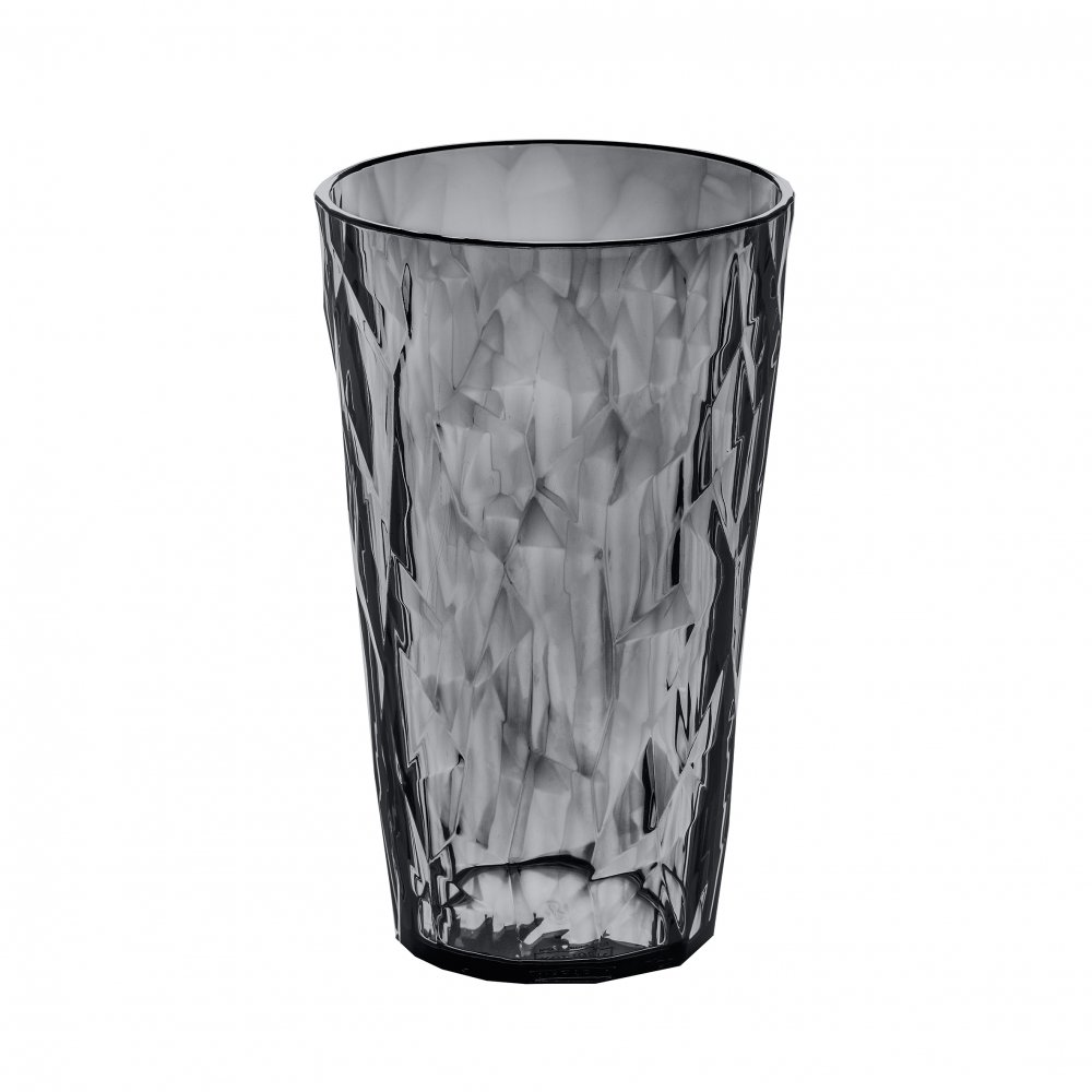 CLUB L Glass 400ml transparent grey