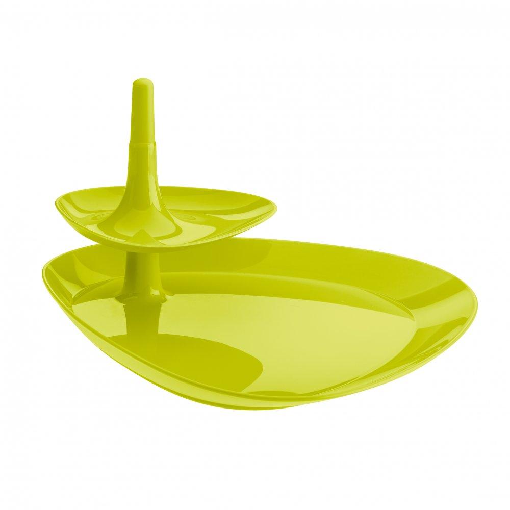 BETTY TRAY Snacktablett mustard green