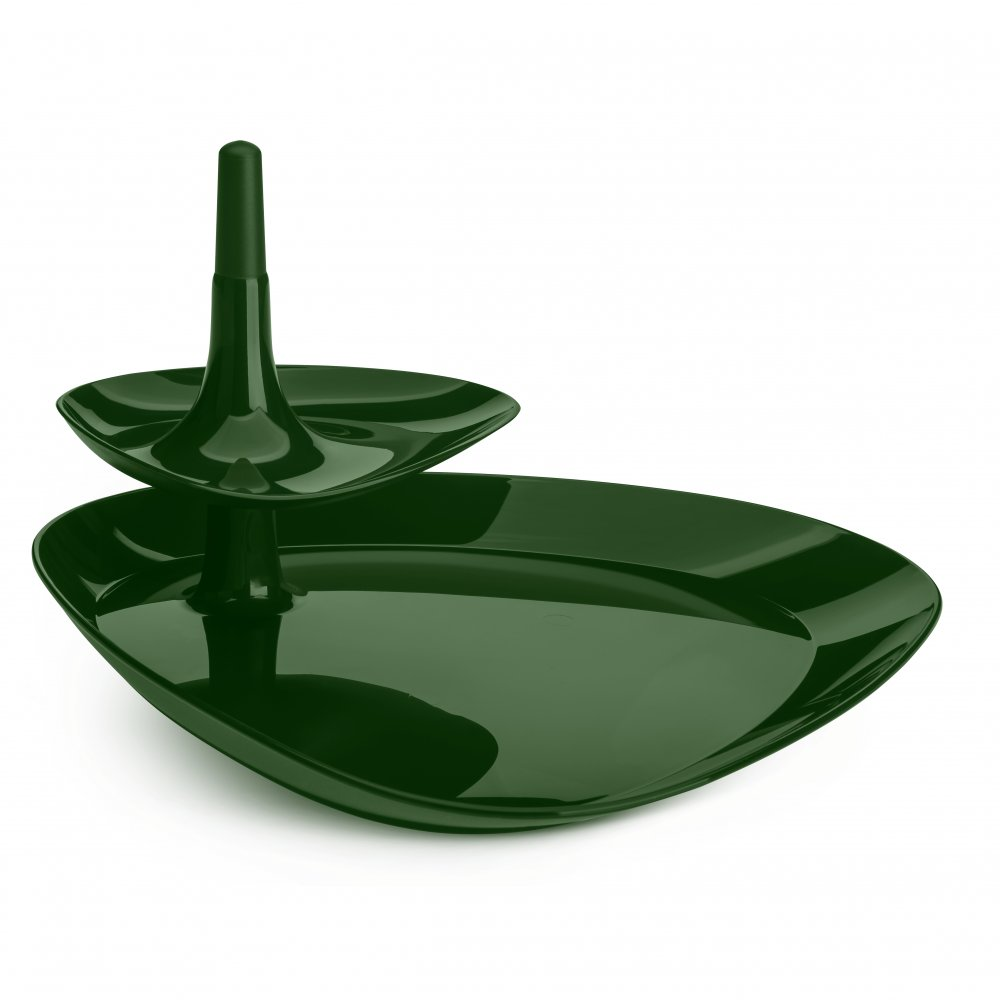 BETTY TRAY Snack Tray forest green