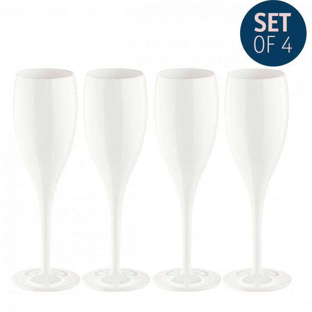 CHEERS NO. 1 Superglas 100ml Set of 4 cotton white