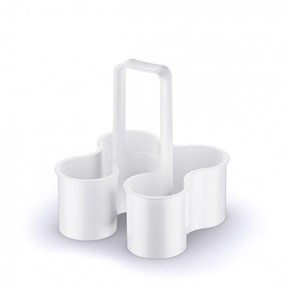 CADDY Flaschenträger cotton white