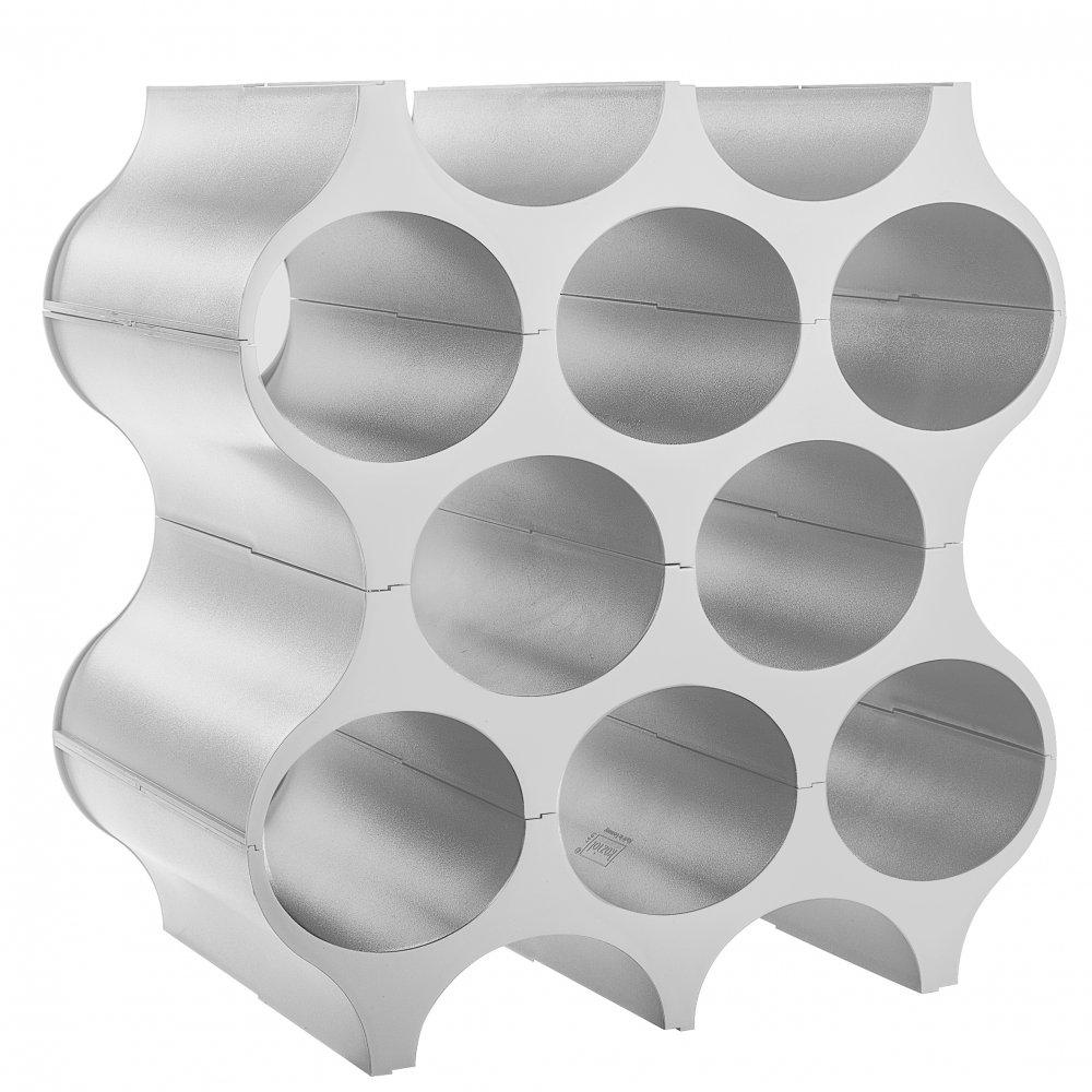 SET-UP Flaschenregal soft grey