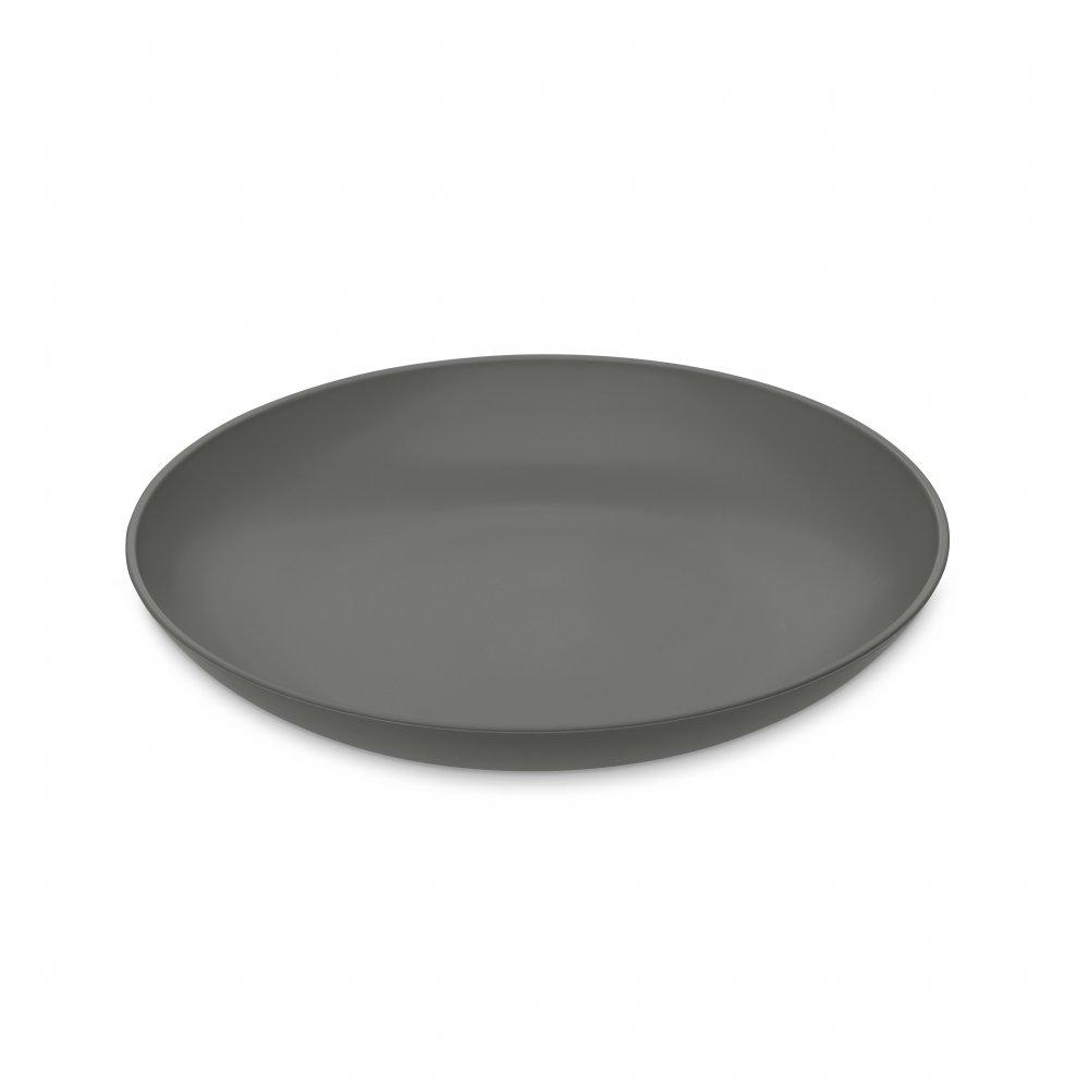 RONDO Teller, tief deep grey