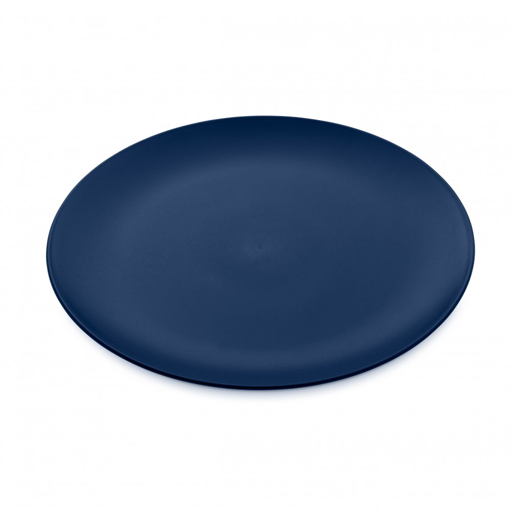 RONDO Flacher Teller deep velvet blue