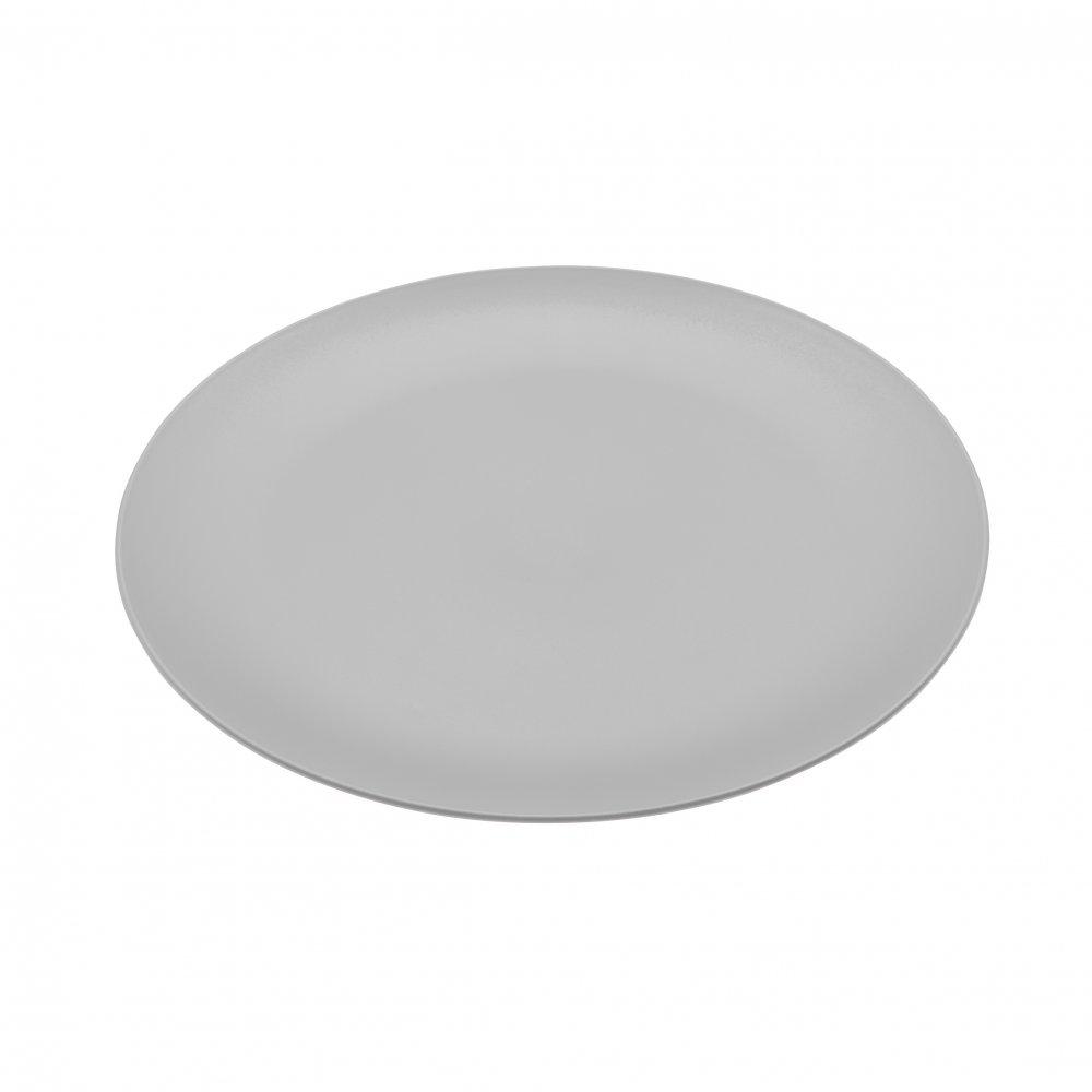 RONDO Flacher Teller cool grey