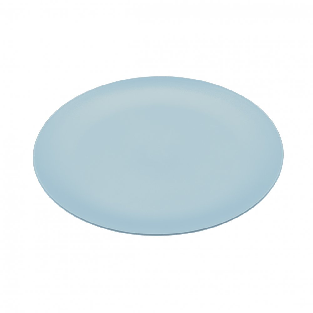 RONDO Flacher Teller powder blue