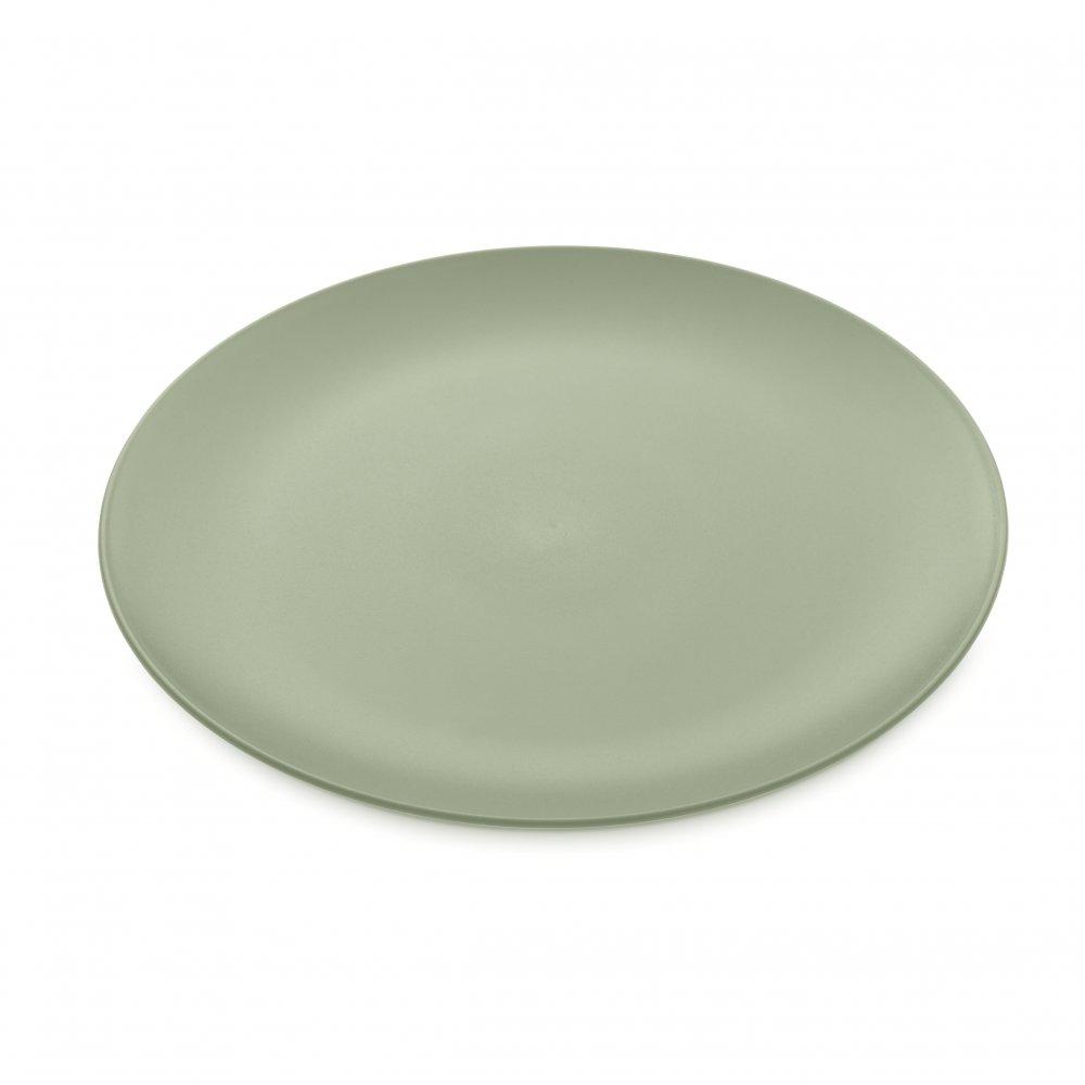 RONDO Dinner Plate eucalyptus green