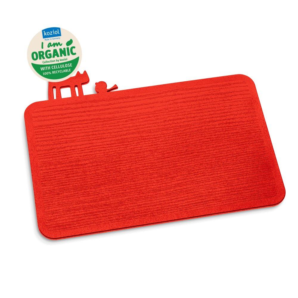 [pi:p] Cutting Board organic red