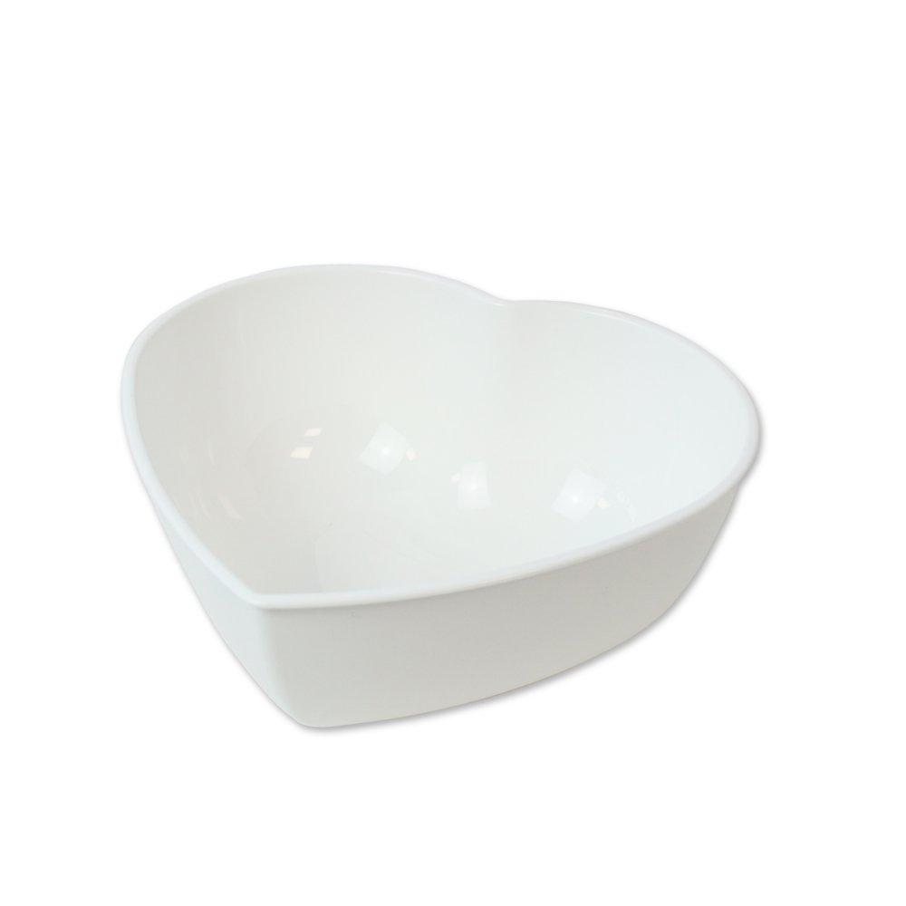 HERZ No. 4 Schüssel cotton white