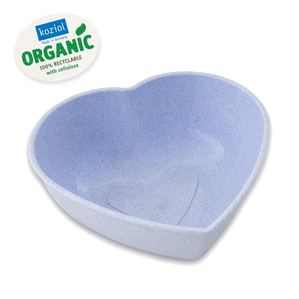 HERZ Schüssel organic blue