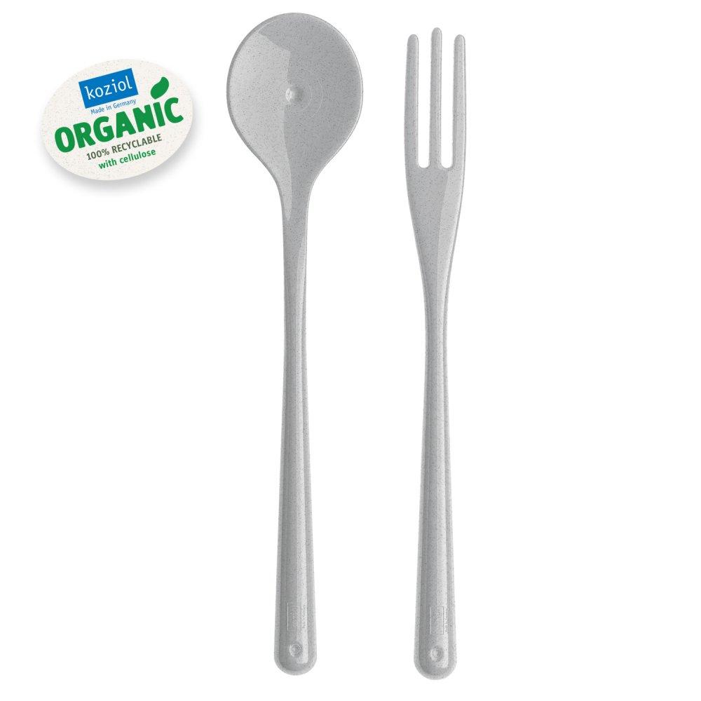 NAPOLI Organic Spaghettibesteck organic grey