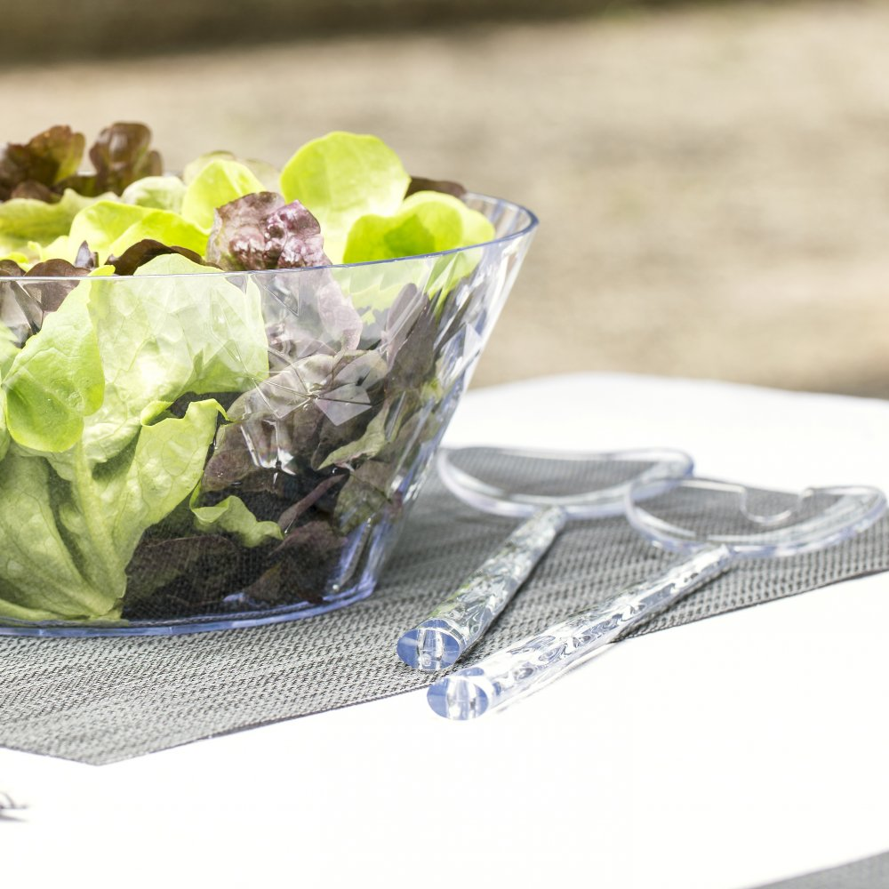 CRYSTAL SALAD Salatbesteck