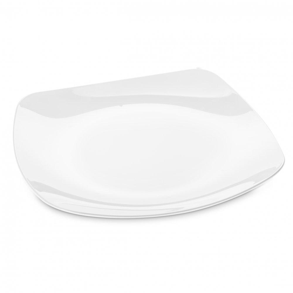 PLAZA Plate cotton white