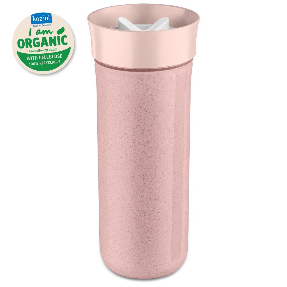 SAFE TO GO XL Organic Trinkflasche 700ml organic pink