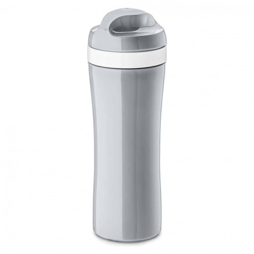 OASE Water Bottle 425ml cool grey-cotton white