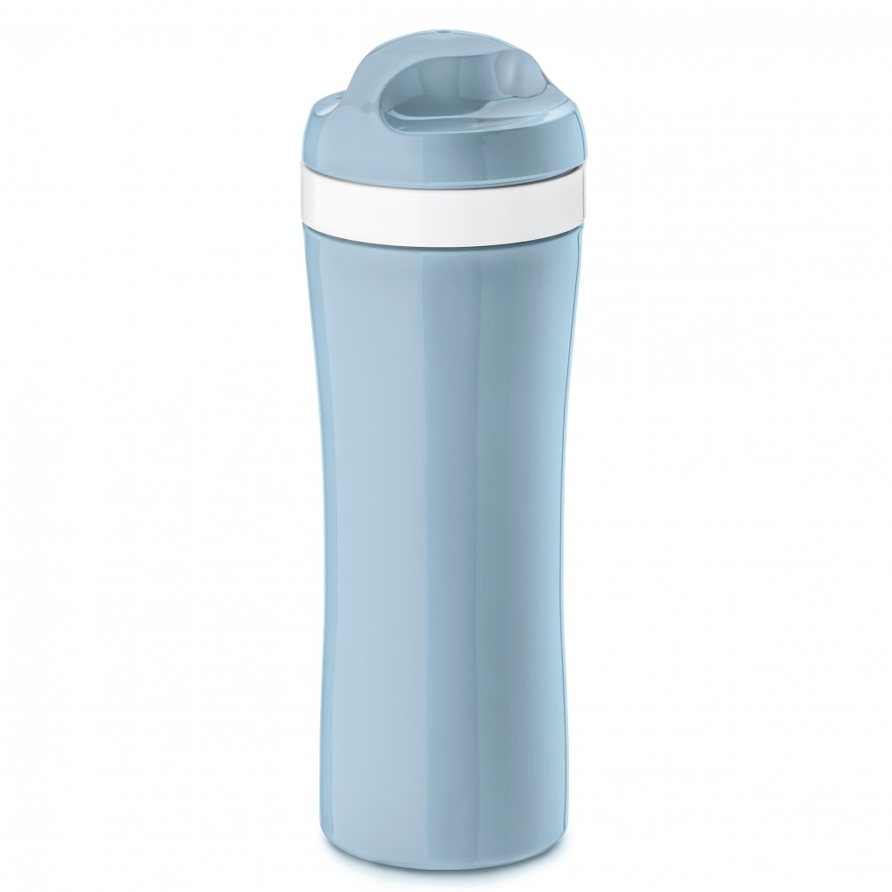 OASE Trinkflasche 425ml powder blue-cotton white