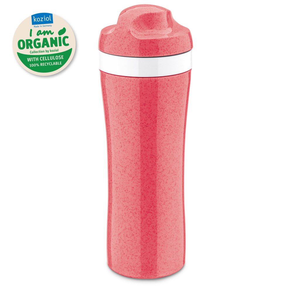 OASE Trinkflasche 425ml organic coral