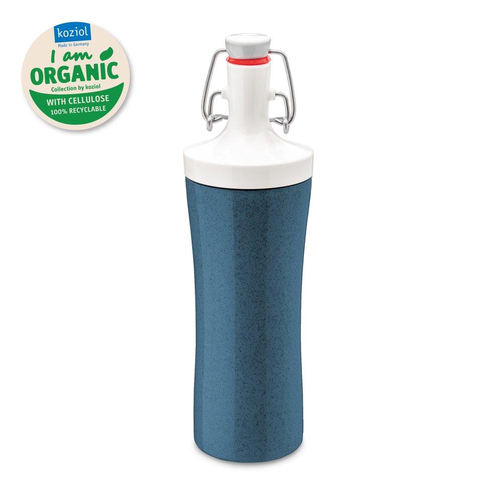 PLOPP TO GO Trinkflasche 425ml organic deep blue