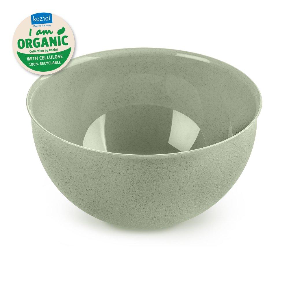 PALSBY M ORGANIC Bowl 2l organic green