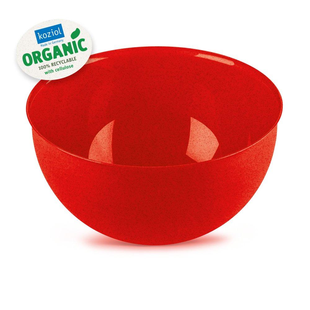 PALSBY M ORGANIC Schüssel 2l organic red